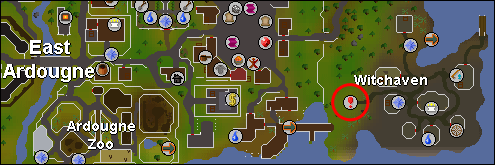 Witchaven Dungeon Map - Global RuneScape