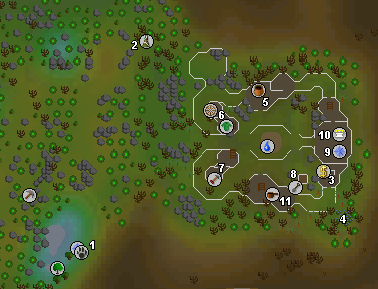 osrs how to get to lletya