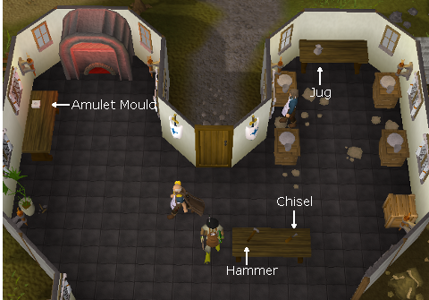 how to train crafting in runescape