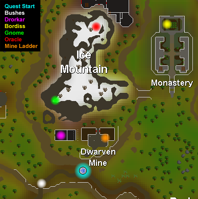 Perils Of Ice Mountain Quest Guide Global Runescape