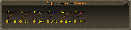 Zaff's Superior Staffs